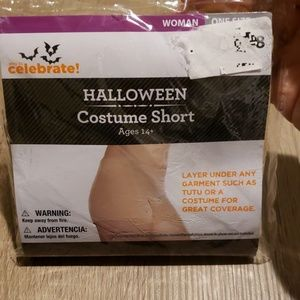 $2 with bundle! Womans Halloween Costume Shorts